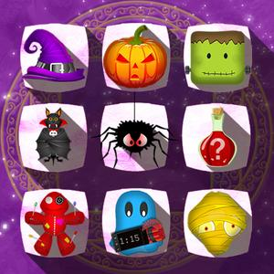 play Halloween Drops - Match Three Puzzle
