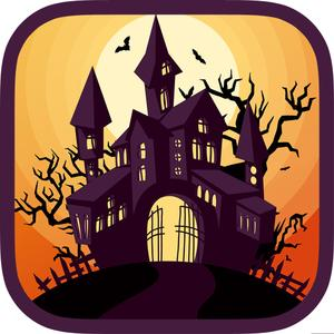 play Halloween Haunted House Decoration
