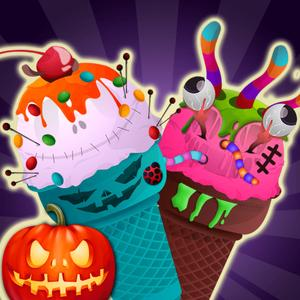 play Halloween Party Food Cooking Granny Pie,Sea Food ,Smile Slice,Turki Sandwich ,Halloween Desert Maker..