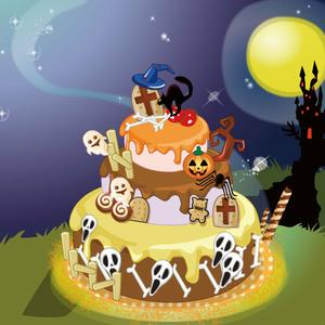 play Halloween-Protect The Cake