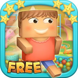 play Happy Block Runner - Jump Around The Craft Room Avoid The Birds And Mine