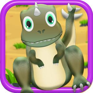 play Happy Dino Bubble Adventure - Free Kids Game!