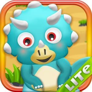 play Happy Dino Bubble Adventure Lite