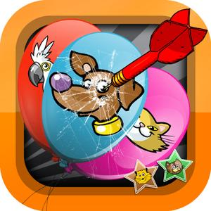 play Happy Pet Balloon Pop Free - Baby Animal Face Blast Puzzle Match Adventure