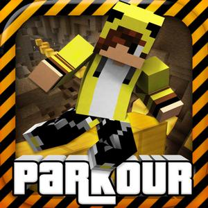 play Hardcore Parkour - Mini Block Survival Shooter Pixel Game With Multiplayer