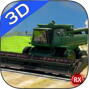play Harvesting 3D Farm Simulator - Agriculture Crops Reaping & Plowing Machine
