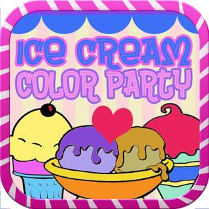 play Ice Cream Color Party - Paint And Draw Doodle Book