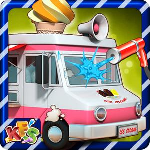 play Ice Cream Truck Wash - Washing, Cleaning & Dirty Car Cleanup Game