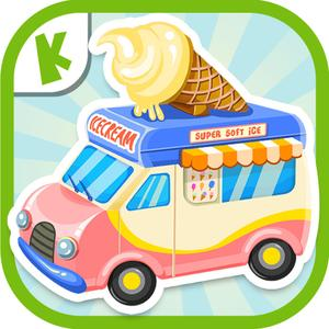 play Ice Cream Truck:(Mandarin Chinese Pronunciation) Educational Puzzle Game For Kids