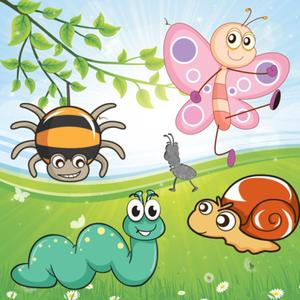 play Insects Puzzles For Toddlers And Kids - Educational Puzzle In The Insect Kingdom !