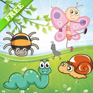 play Insects Puzzles For Toddlers And Kids - Educational Puzzle In The Insect Kingdom ! Free App