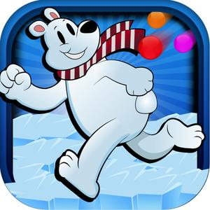 play Keep The Polar Bear Clean Falling Paintball Challenge Pro