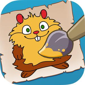 play Kids Paint - Coloring Book Prof