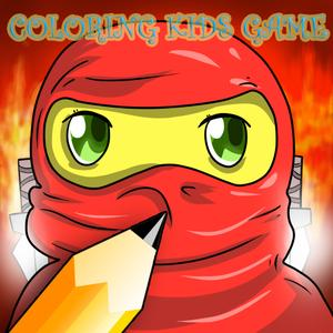 play Kids Paint Learn With Ninjago Version