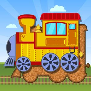play Kids Train & Transportation - Puzzle For Toddler
