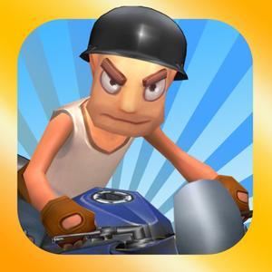 play Mad Motor Biker: Happy Bike Crash