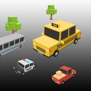 play Mad Taxi Car Game