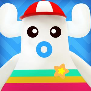 play Magic Town Color 3D- Color Enlightenment For Kids