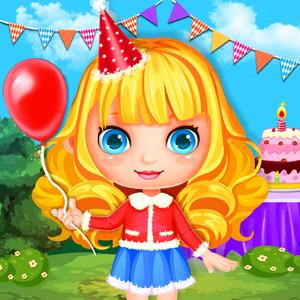 play Makeup & Dress Me Up! Girls Grand Party Makeover Game