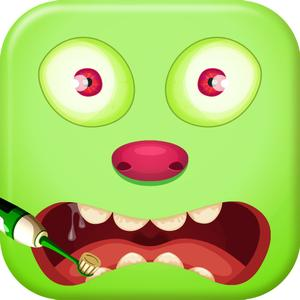 play Naughty Monster Dentist - Play Zombie'S Dental Spa & Clinic Game For Kids