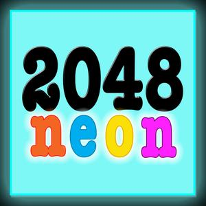 play Neon 2048 Match The Number