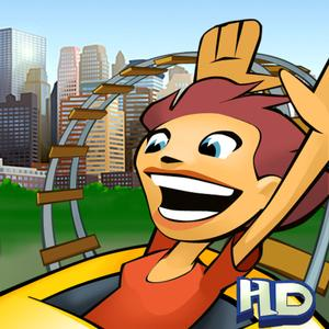 play New York 3D Rollercoaster Rush Hd