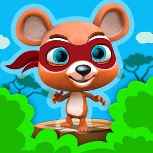 play Ninja Bear Jumper – Clumsy Samurai Jungle Escape – Free Jumping & Running Mini Game