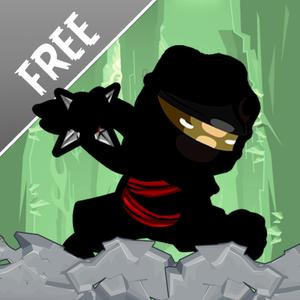 play Ninja Rampage Run Free: Maneuver Against Gravity