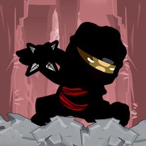 play Ninja Rampage Run: Maneuver Against Gravity