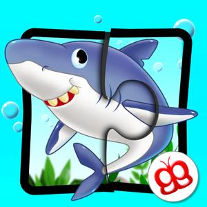 play Ocean Jigsaw Puzzle 123 For Ipad - Word Learning Puzzle Game For Kids