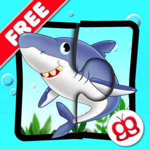 play Ocean Jigsaw Puzzle 123 For Ipad Free - Word Learning Puzzle Game For Kids