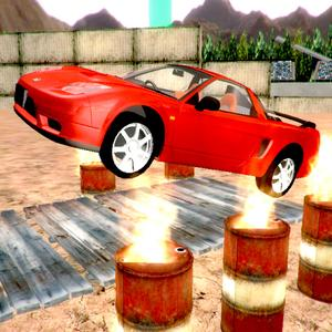 play Offroad Car Stunts 3D