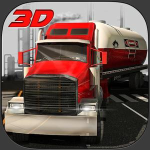 play Oil Transporter Truck Simulator 3D – Drive The Heavy Fuel Tanker & Transport It To The Gasoline Stations