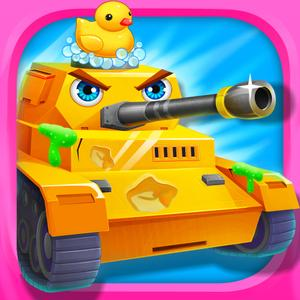 play Paint And Design! - Kids Tank Builder