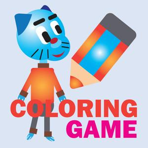 play Painting Game For Gumball