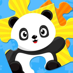 play Panda Joe'S Summer Fun Jigsaw Puzzles - Educational Learning Fun Adventure Game For Kids Boys And Girls Explorers: Presc