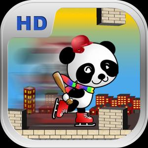 play Panda On Roller Blades: Escape From The Zoo