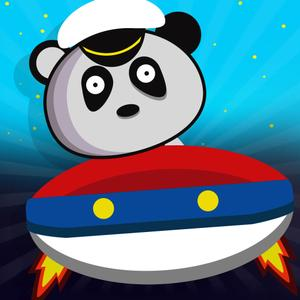 play Panda'S Flying Saucer