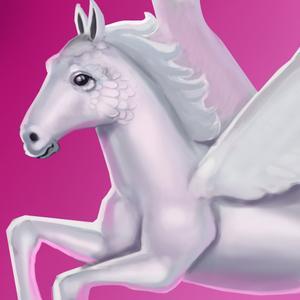 play Pegasus Rainbow Run 3D