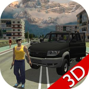 play Real City Russian Car Driver 3D