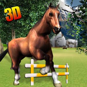 play Real Horse Simulator 3D - Experience The Ride Of Wild Horse In Challenging & Ultimate Farm Field
