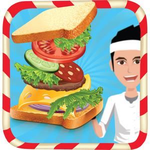 play Sandwich Maker - Crazy Fast Food Cooking Fever And Kitchen Game