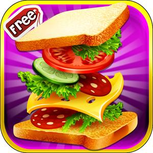 play Sandwich Maker– Free Fun Cooking For Kids, Teens And Girls, Learn And Cook With Easy Fast Food Recipes And Become An Exp