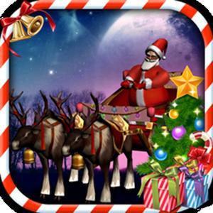 play Santa Claus Sleigh Parking 3D