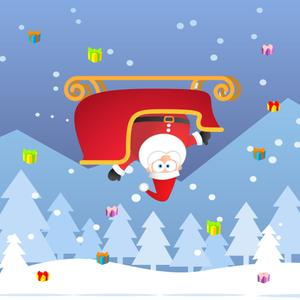 play Save The Santa (Santa'S Sleigh Lost Control, Don'T Let Him Fall And Collect All The Christmas Presents)