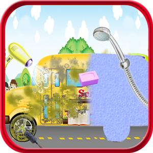 play School Bus Wash