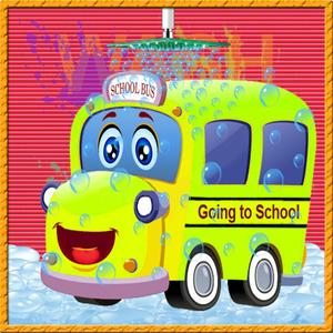 play School Bus Wash Salon Best Auto Cleaning & Washing