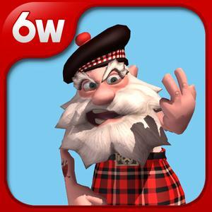 play Talking Happy Pals - Grumpy The Scotsman