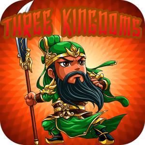play Three Kingdoms - 3 Legend General Heroes Crush The War