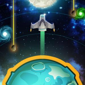 play Tap The Planet - Save The Astronauts Lost In Space!